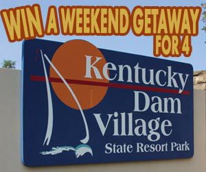 Win a trip to Kentucky Dam Village State Resort Park